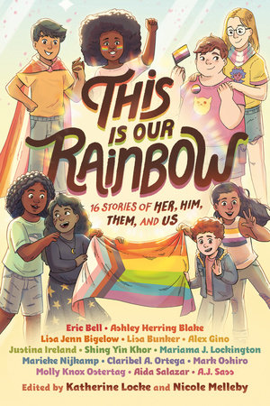 This is our Rainbow anthology cover